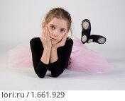 Купить «Девочка в балетной пачке», фото № 1661929, снято 5 декабря 2009 г. (c) Калабина Ольга Сергеевна / Фотобанк Лори