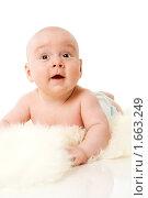 Купить «Счастливый ребенок», фото № 1663249, снято 13 мая 2009 г. (c) Ольга Сапегина / Фотобанк Лори