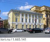 Купить «Москва. Моховая улица», эксклюзивное фото № 1665141, снято 27 апреля 2010 г. (c) lana1501 / Фотобанк Лори