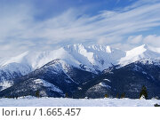 Купить «Зимний горный пейзаж. Западные Саяны. Ергаки», фото № 1665457, снято 17 июля 2018 г. (c) Sergey Toronto / Фотобанк Лори
