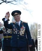 Ветеран Великой Отечественной войны (2010 год). Редакционное фото, фотограф Артур (Мangalor) / Фотобанк Лори