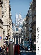 Купить «Вид на базилику Cакре Кер», фото № 1669225, снято 16 апреля 2010 г. (c) Елена Хоткина / Фотобанк Лори