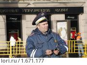 Купить «Милиция на Тверской улице», фото № 1671177, снято 29 апреля 2010 г. (c) Яременко Екатерина / Фотобанк Лори