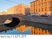 Отражения Екатерининского канала. Санкт-Петербург (2010 год). Стоковое фото, фотограф Александр Алексеев / Фотобанк Лори