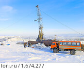 Купить «Геологоразведка», фото № 1674277, снято 14 марта 2008 г. (c) Мирзоянц Андрей / Фотобанк Лори