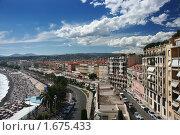 Купить «Панорама города Ницца. Франция», фото № 1675433, снято 13 июля 2008 г. (c) Николай Винокуров / Фотобанк Лори