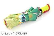Купить «Зонт женский складной», эксклюзивное фото № 1675497, снято 26 апреля 2010 г. (c) Юрий Морозов / Фотобанк Лори