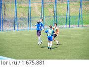 Купить «Футбол», фото № 1675881, снято 2 мая 2010 г. (c) Андрей Пашков / Фотобанк Лори