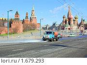 Московское утро (2010 год). Редакционное фото, фотограф Винокуров Евгений / Фотобанк Лори