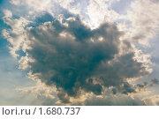 Купить «Облако-сердечко», фото № 1680737, снято 6 сентября 2009 г. (c) Александр Рябов / Фотобанк Лори
