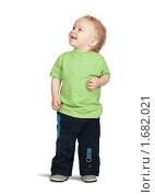 Двухлетний мальчик. Стоковое фото, фотограф Яков Филимонов / Фотобанк Лори