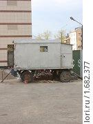 Купить «Строительный вагончик», фото № 1682377, снято 1 января 2008 г. (c) Зуев Андрей / Фотобанк Лори