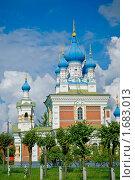 Купить «Православная церковь Покрова Божией Матери в Мариенбурге», фото № 1683013, снято 14 февраля 2007 г. (c) Артем Костров / Фотобанк Лори