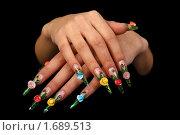 Купить «Ногти», фото № 1689513, снято 6 августа 2009 г. (c) Константин Степаненко / Фотобанк Лори