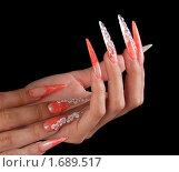 Купить «Ногти», фото № 1689517, снято 6 августа 2009 г. (c) Константин Степаненко / Фотобанк Лори