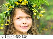Купить «Улыбающаяся девочка», фото № 1690929, снято 8 мая 2010 г. (c) Юлия Шилова / Фотобанк Лори