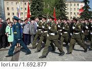 Купить «65 лет Великой Победы в Туле», фото № 1692877, снято 8 мая 2010 г. (c) Андрей Ярцев / Фотобанк Лори