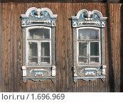 Наличники. Стоковое фото, фотограф Владимир Вейцель / Фотобанк Лори