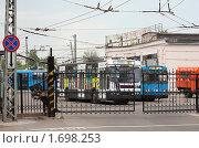 Купить «Троллейбусной депо во Владимире», эксклюзивное фото № 1698253, снято 9 мая 2010 г. (c) Яков Филимонов / Фотобанк Лори