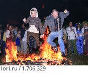 Купить «Ночь на Ивана Купалу», фото № 1706329, снято 7 июля 2009 г. (c) BoLinar / Фотобанк Лори