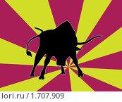 Купить «Бык», иллюстрация № 1707909 (c) Александр Карачкин / Фотобанк Лори