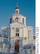 Купить «Стародуб. Старо-Николаевская церковь (XIX в.)», фото № 1710321, снято 18 июня 2019 г. (c) Александр Шилин / Фотобанк Лори