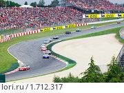 """Купить «Спортивные автомобили  гоночной серии Porsche Mobil 1 Supercup  на трассе """"Catalunya Montmello""""  Барселона 9 мая 2010 года», фото № 1712317, снято 9 мая 2010 г. (c) Куликов Константин / Фотобанк Лори"""