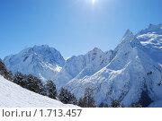 Купить «Жаркий день в горах», фото № 1713457, снято 20 февраля 2010 г. (c) Евгения Полянская / Фотобанк Лори