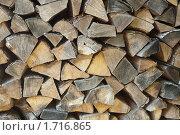 Поленница дров. Стоковое фото, фотограф Александра Киланова / Фотобанк Лори