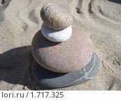 Композиция из камней. Стоковое фото, фотограф Конева Кира / Фотобанк Лори