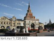 Казанский вокзал в Москве (2010 год). Редакционное фото, фотограф Жукова Юлия / Фотобанк Лори