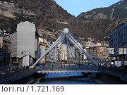 Мост в Андорре (2010 год). Редакционное фото, фотограф Наталья Гребенюк / Фотобанк Лори