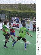 Купить «Мини-футбол», фото № 1725669, снято 21 мая 2009 г. (c) Юрий Каркавцев / Фотобанк Лори