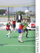 Купить «Мини-футбол», фото № 1725685, снято 21 мая 2009 г. (c) Юрий Каркавцев / Фотобанк Лори