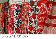 Украинская вышивка. Стоковое фото, фотограф Завриева Елена / Фотобанк Лори
