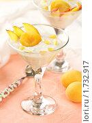 Купить «Десерт с абрикосами и нектарином», эксклюзивное фото № 1732917, снято 26 мая 2010 г. (c) Лисовская Наталья / Фотобанк Лори