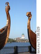 Выборг. Ладьи на набережной (2008 год). Стоковое фото, фотограф Корчагина Полина / Фотобанк Лори