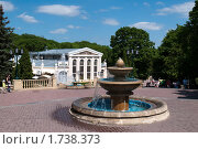 Купить «Полдень в ессентукском Курортном парке», фото № 1738373, снято 18 мая 2010 г. (c) Валерий Шилов / Фотобанк Лори