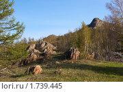 Купить «Хребет Ирендык», фото № 1739445, снято 19 мая 2008 г. (c) Рамиль Юсупов / Фотобанк Лори