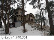 Сказочный домик на горке. Светлогорск (2009 год). Стоковое фото, фотограф Svet / Фотобанк Лори