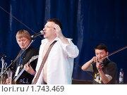 Купить «Рок-группа Набат», фото № 1743469, снято 29 мая 2010 г. (c) Яков Филимонов / Фотобанк Лори