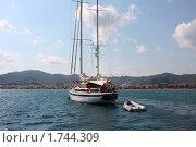 Купить «Яхты у побережья Турции, курортный город Мармарис», фото № 1744309, снято 13 сентября 2009 г. (c) ElenArt / Фотобанк Лори