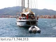 Купить «Яхты у побережья Турции, курортный город Мармарис», фото № 1744313, снято 13 сентября 2009 г. (c) ElenArt / Фотобанк Лори