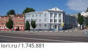 Купить «Вид с набережной на улицу Калинина г. Брянск», фото № 1745881, снято 22 мая 2010 г. (c) Александр Шилин / Фотобанк Лори