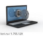 Купить «Защита данных», иллюстрация № 1755129 (c) Ильин Сергей / Фотобанк Лори