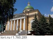 Купить «Троицкий собор в Свято-Даниловом монастыре», эксклюзивное фото № 1760289, снято 23 мая 2010 г. (c) Виктор Тараканов / Фотобанк Лори