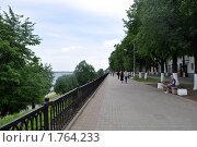 Купить «Вид на верхнюю набережную Волги в Ярославле», фото № 1764233, снято 23 мая 2010 г. (c) Наталья Лабуз / Фотобанк Лори
