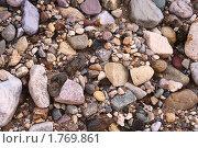 Камни на берегу реки. Стоковое фото, фотограф Владимир Зорин / Фотобанк Лори