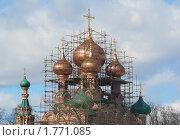 Купить «Храм Троицы Живоначальной в Останкине. Москва», эксклюзивное фото № 1771085, снято 23 марта 2010 г. (c) lana1501 / Фотобанк Лори