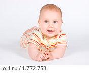 Довольный младенец. Стоковое фото, фотограф Куликова Вероника / Фотобанк Лори